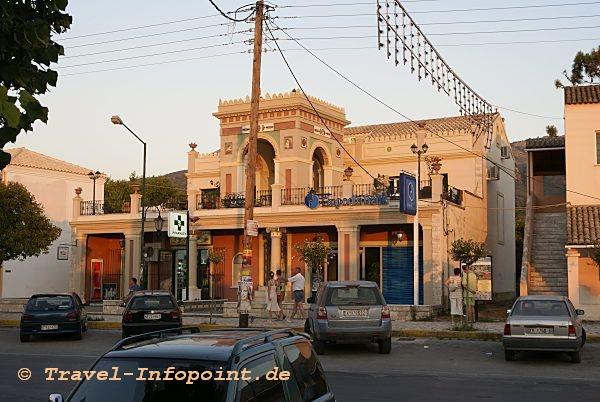 Corfu, Acharavi Hauptstrasse