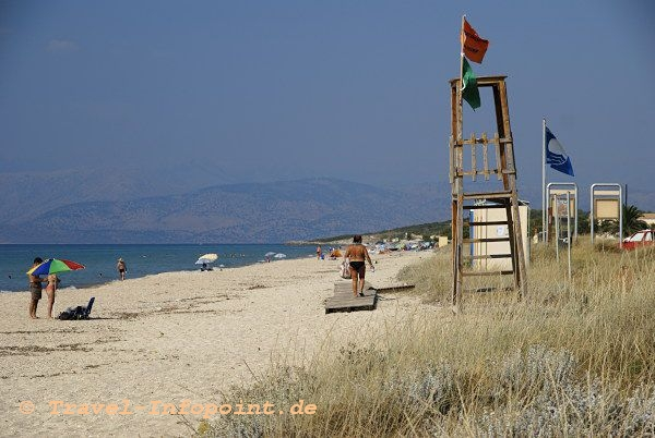 Korfu, Almyros Beach