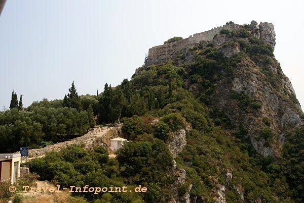 Korfu, Angelokastro