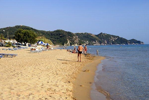 Corfu, Arila Beach