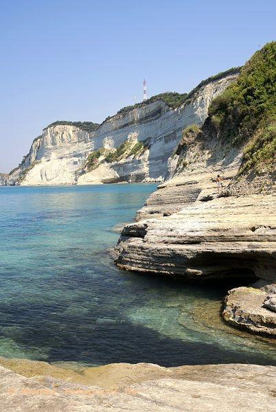 Korfu, Cap Drastis