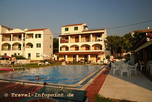 Korfu, Acharavi Hotel Panos