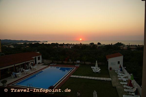 Korfu, Acharavi: Hotel Panos