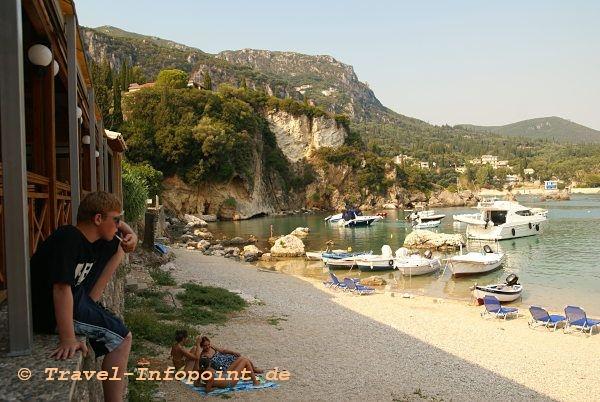 Corfu, Lipades Beach