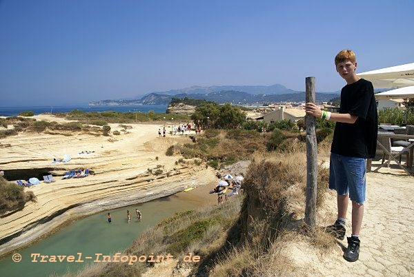 Corfu, Sidari: Canal d' Amour