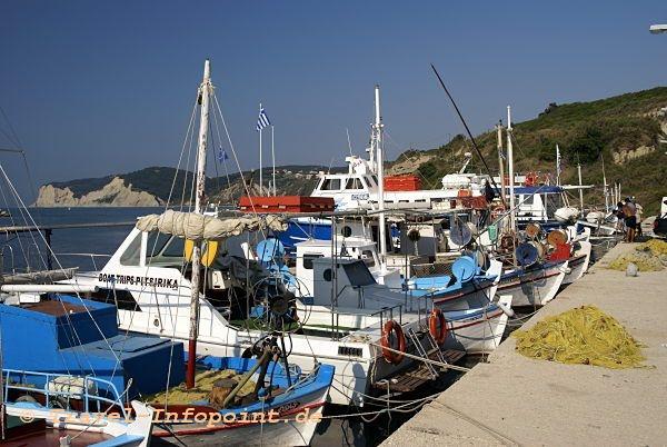 Corfu, Agios Stephanos Hafen
