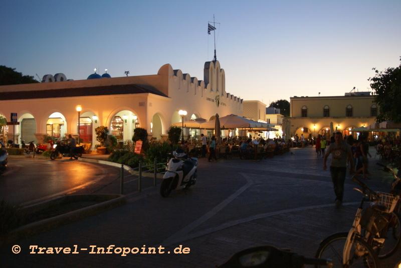 Markthalle Kos-Stadt / Griechenland