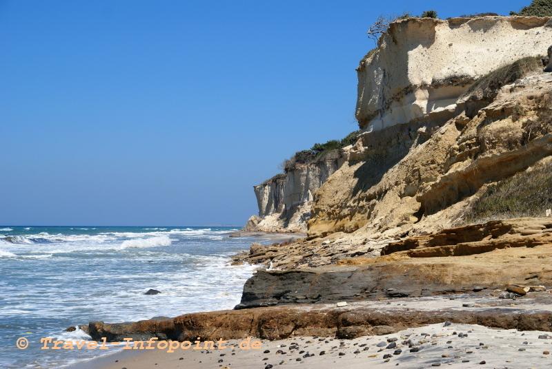 Strand an der Westküste von Kos