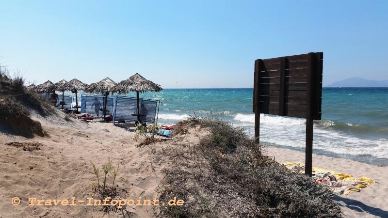 "Beach beim ""Tam Tam"" / Kos"