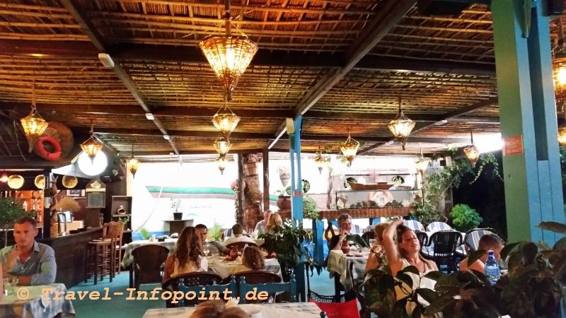 """Taverne """"Plori"""" in Tigaki auf Kos"""