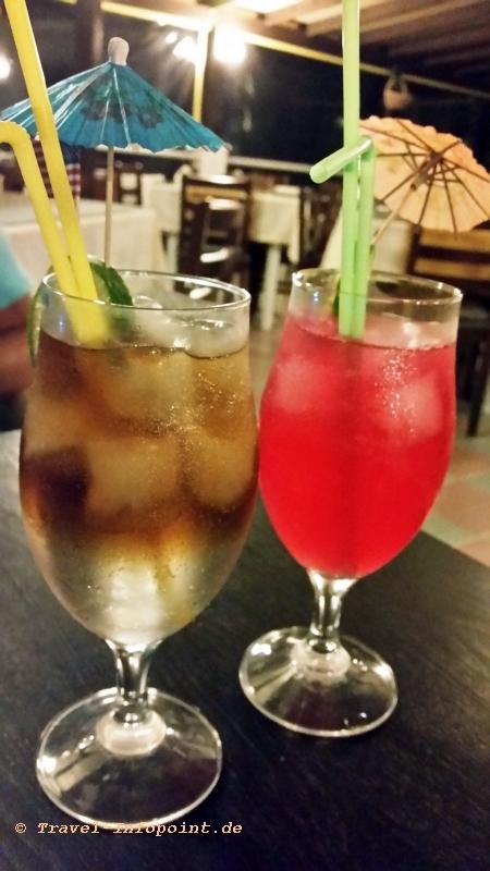 "Drinks im Hotel ""Efesos Beach"", Tigaki / Kos"