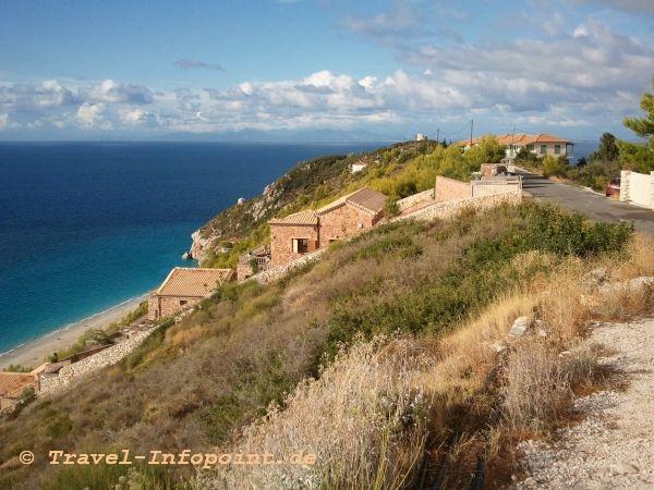 Oberhalb von Agios Nikitas