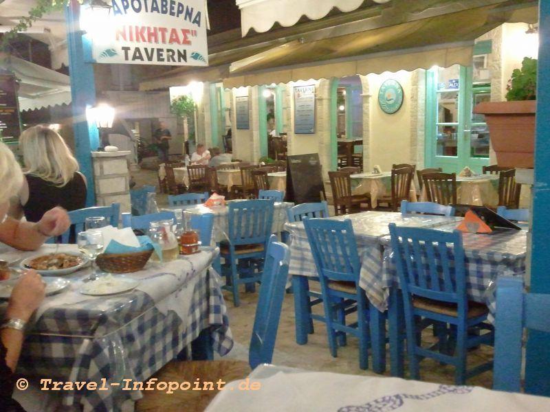 Taverne in Agios Nikitas, Lefkas
