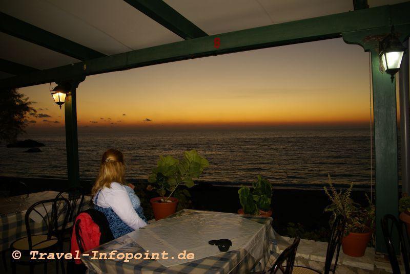 Tavernenblick Kathisma-Beach, Lefkas