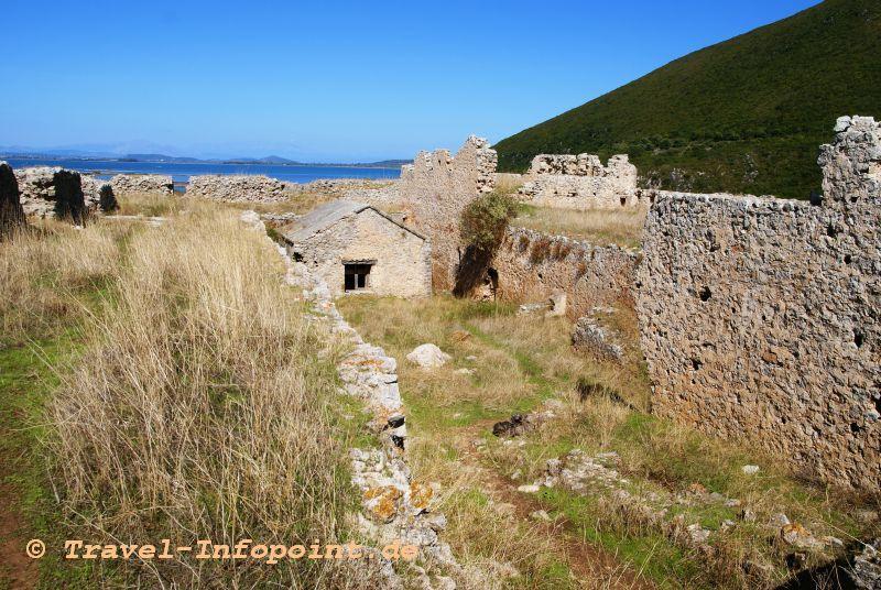 Festung Griva, Lefkas