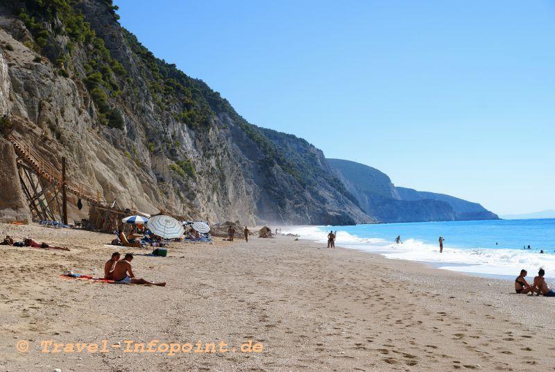 Egremnoi-Beach, Lefkas