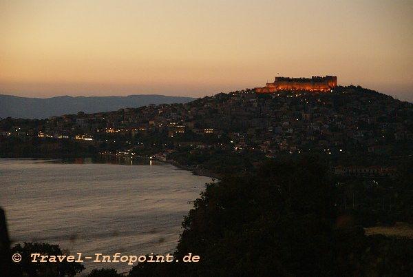 Blick auf Molivos, Lesbos