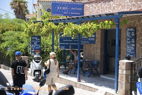 Motorradverleih Molivos, Lesbos