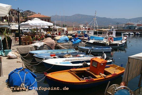 Molivos Hafen, Lesbos