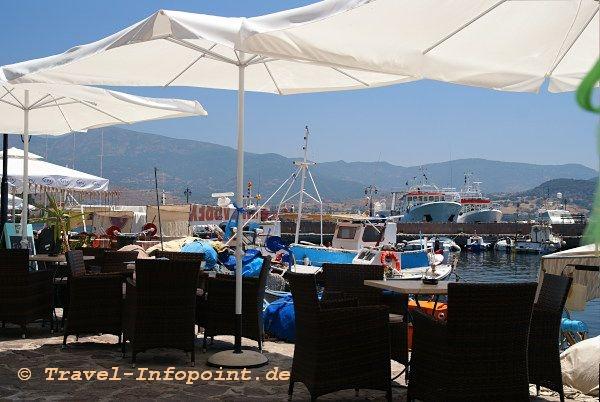 Molivos Cocktaibar am Hafen