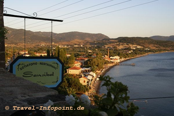 Taverne Sansibal, Molivos / Lesbos
