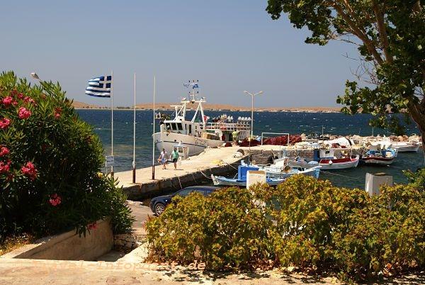 Sigri Lesbos Hafen