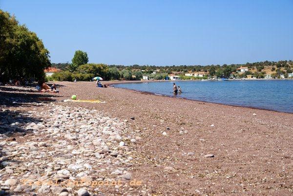 Bucht von Tsonia, Lesbos
