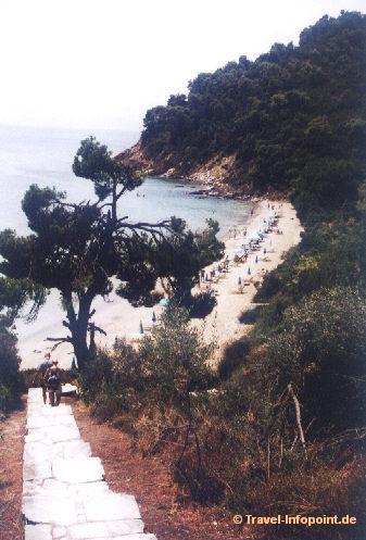 Abelakia-Beach, Skiathos (vergrößerte Ansicht in der Bildergalerie 4)