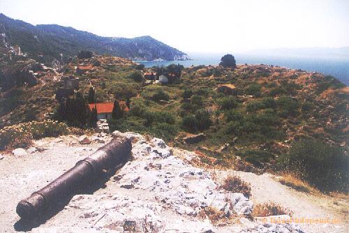 Castro im Norden von Skiathos (vergrößerte Ansicht in der Bildergalerie 3)
