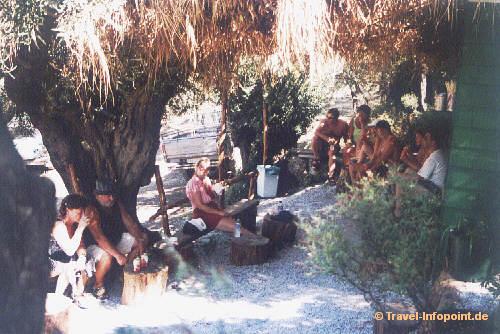 Taverne beim Castro, Skiathos (vergrößerte Ansicht in der Bildergalerie 3)