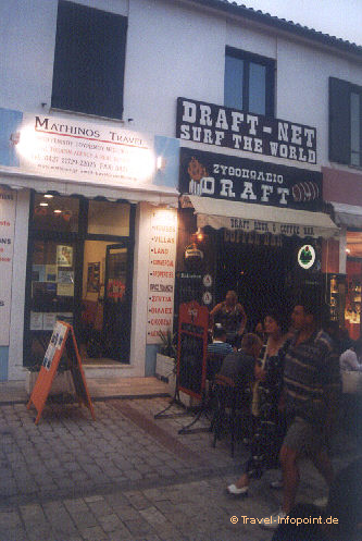 Internet-Cafe, Skiathos-Stadt (vergrößerte Ansicht in der Bildergalerie 2)