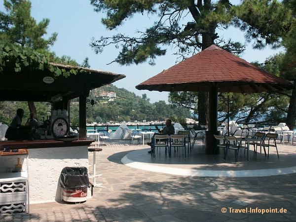 Taverne bei Chrisi Ammoudia, Thassos