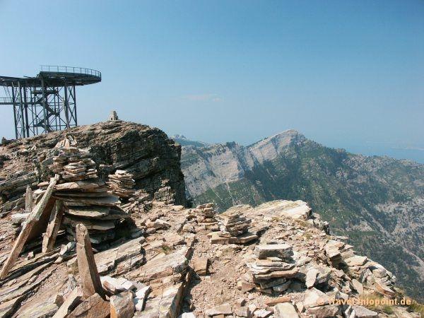 Gipfel des Ipsarion, Thassos