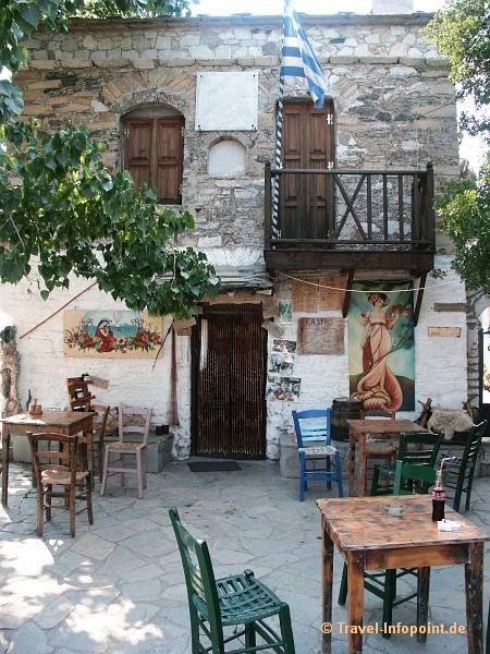 Taverne am Kastro, Thassos