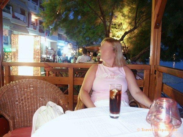 Abendessen in Limenaria, Thassos