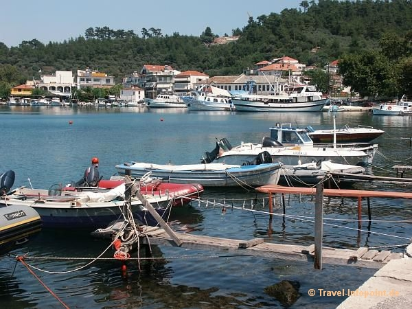 alter Hafen in Limenas, Thassos