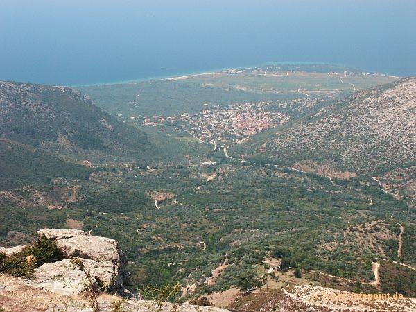 Blick nach Prinos, Thassos