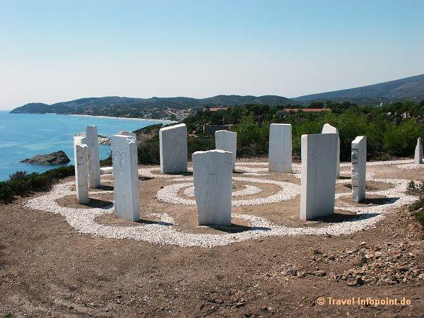 Metallia Beach, Thassos