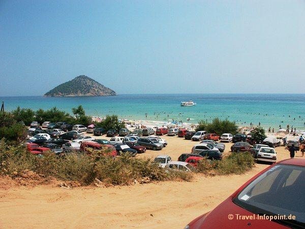 Paradise-Beach, Thassos