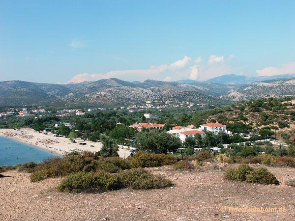 Die Bucht bei Potos, Thassos