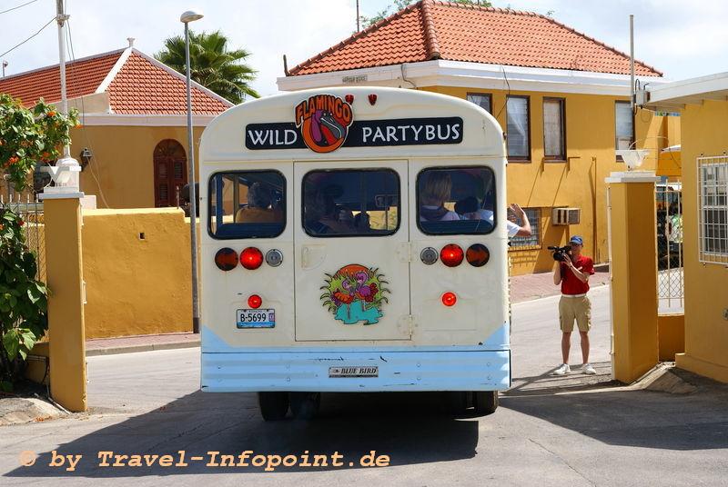Partybus auf Bonaire