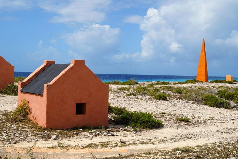 Sklavenhäuser auf Bonaire